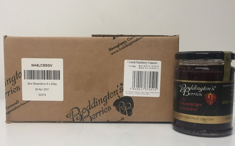 Strawberry Conserve - 340g Jars [x 9]