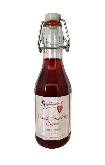 Limited Edition Cornish Strawberry Syrup - 250ml