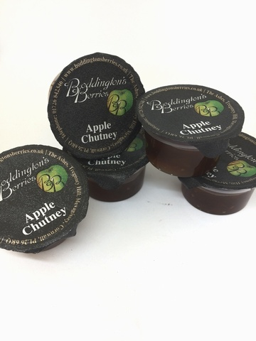 Apple Chutney - 28g Individual Portion (x80)