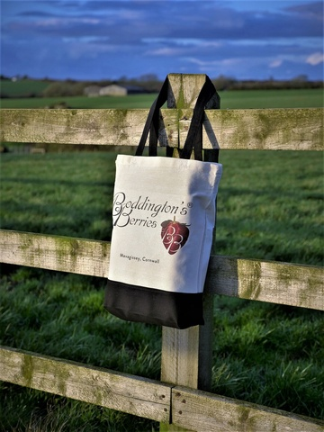 Boddington's Berries Canvas Shopper